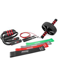Pack fitness musculación KITFIT-400